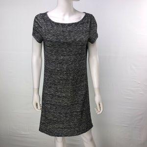 Ann Taylor LOFT Women's Medium Gray Shift Dress